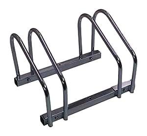 Amazon.com: EasyGo Floor Stationary Double Bike Wheel Rack