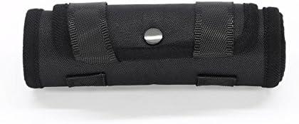 T Tocas perros Velcro elevación arnés - negro suave - Ayuda a con ...