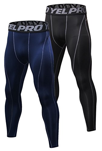 SILKWORLD Compression Baselayer Sports Leggings