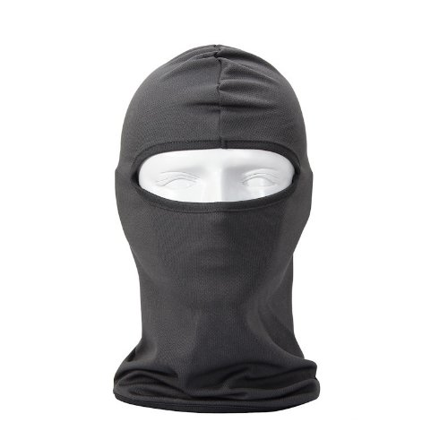 NewNow Candy Color Ultra Thin Ski Face Mask - Great Under A Bike / Football Helmet -Balaclava-Gray NWDoll (NewNow) NewNowBO2277