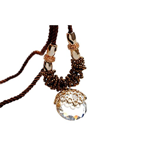 NL-12003C3 New Style Alloy Inlaid Crystal Women's Necklace