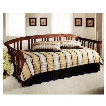 Trundle Cherry Daybed (Dorchester Solid Pine Sleigh Daybed w Suspension Deck)