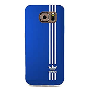 3D Creative Painting Design Adidas Logo Cover Case for Samsung Galaxy S6 Edge Adidas Series