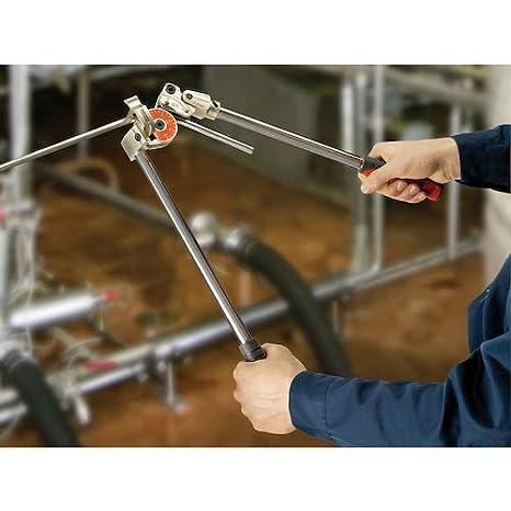 Dobladora de tubos RIDGID 36132 Modelo 408 Dobladora para instrumentos Dobladora de tubos de 12 mm para curvas de hasta 180 grados