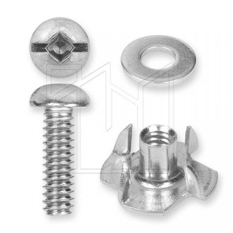 Goalie Toe Bridge Screw Set