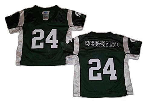 Michigan State Spartans Football Jersey Infant Sizes (18 Month, #24 Jersey)