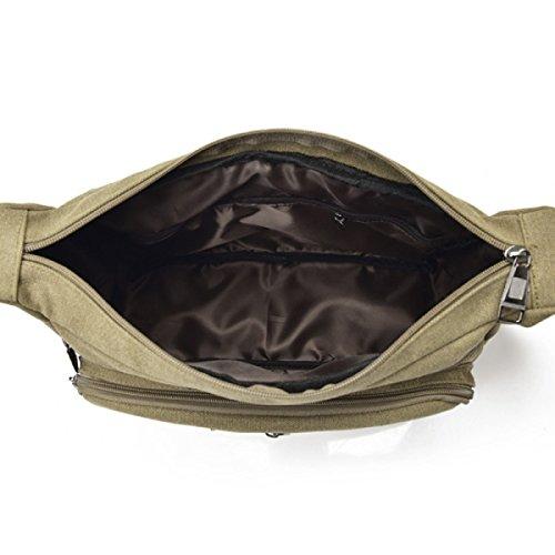 Uomini E Donne Tela Vintage Messenger Ipad Spalla Tote Lavorare Outdoor Il Sacchetto,A-30cm*11cm*23cm