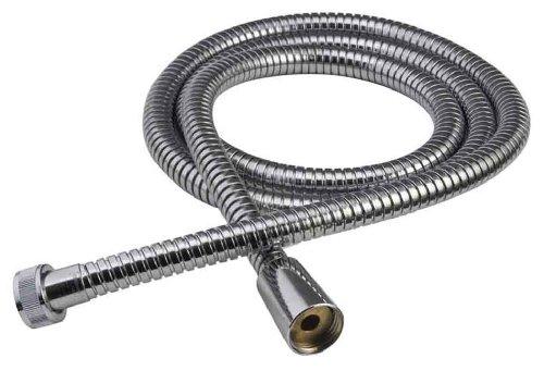 chrome hand shower hose - 6