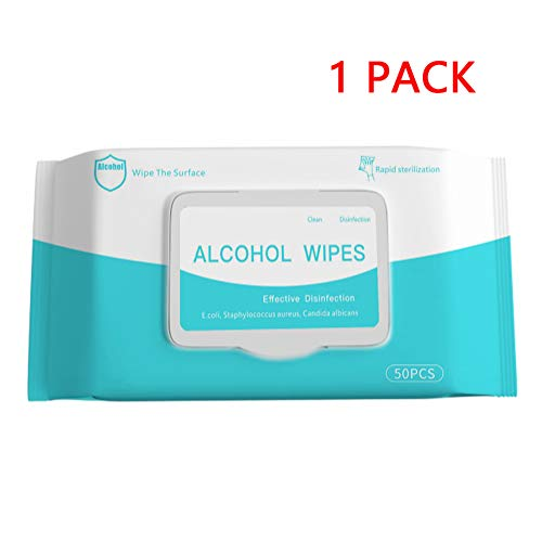 XCBY 75 alcohol Medical disinfection wipes, 50 pieces per pack, convenient to carry and protect the health of adult…