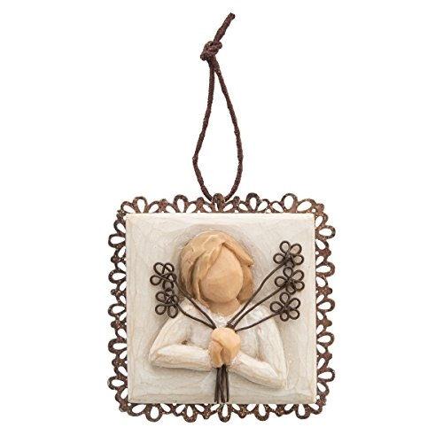Willow Tree Friendship Metal-edged Ornament by Susan Lordi 26238