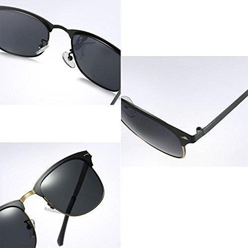 sans soleil 5 femmes monture de green rétro Semi soleil couleurs en alpinisme option hommes polarisées lunettes lunettes gEqp4Iw