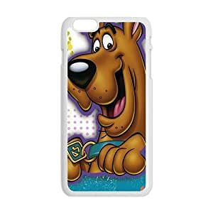 Lovely Cartoon Scooby Doo Plastic Protective Case Slim Fit for iPhone 6 Plus 5.5