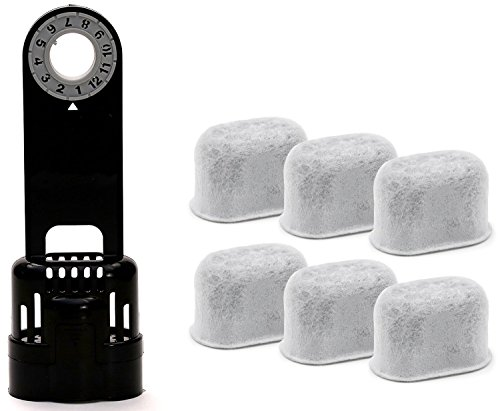 B70 Keurig (6 Pack Replacement Charcoal Water filter Cartridges with Starter Kit Combo for Keurig K-cup 1.0 Coffee Brewing System by iPartplusmore)