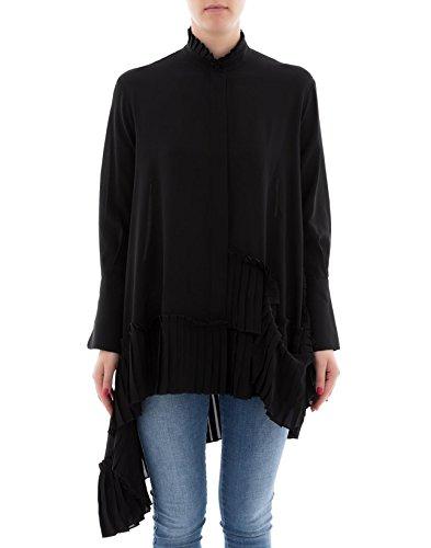 Alexander McQueen Women's 516488Qkb071000 Black Silk Dress - Alexander Mcqueen Women Dresses