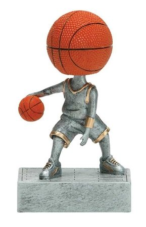 - Decade Awards Basketball Bobblehead Trophy - Basketball Bobble Head Award - 5.5 Inch Tall - Customize Now