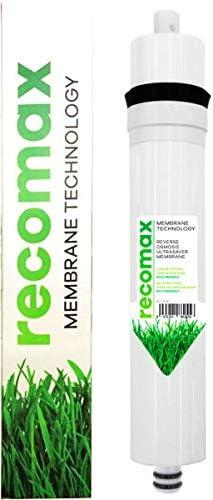 Recomax Membrane Technology de bajo rechazo. para ósmosis inversa Convencional de 50 a 75 GPD.: Amazon.es: Hogar