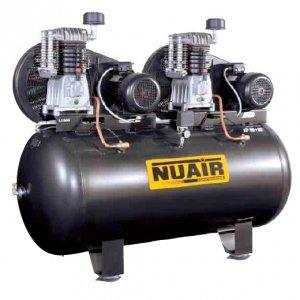 NuAir Compresor De Aire bi-ãtagã cubeta de 500 litros Motor Tandem 7, 5 CV + 7, 5 CV: Amazon.es: Bricolaje y herramientas