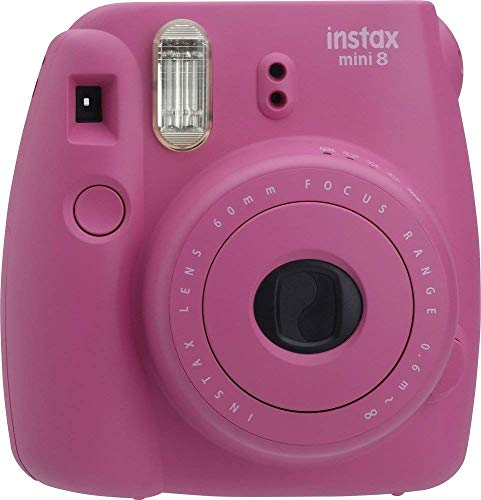 Fujifilm INSTAX Mini 8 Instant Camera,Hot Pink (Renewed)