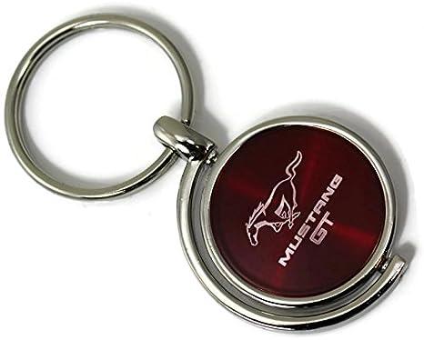 dantegts Ford Mustang Logo Spinner Círculos Llavero Rojo ...