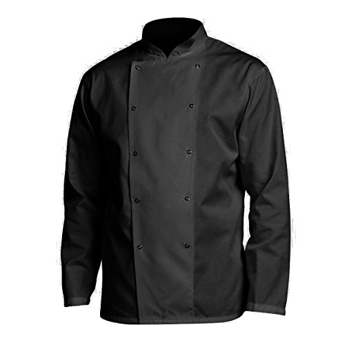 Denny's Budget AFD Chefs Jacket (XS) (Black) by Denny's
