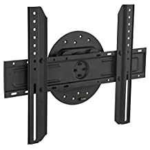 Mount-It! Fixed Low-Profile TV Wall Mount with Landscape to Portrait Rotate Function Fits Samsung, Sony, Toshiba, Sharp, LG, Panasonic LED, LCD TVs