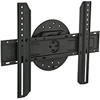 Mount-It! TV Wall Mount Landscape to Portrait Rotation, Fixed Mounting Bracket, Low-Profile for Samsung, Sony, Toshiba, Sharp, LG, Element, Westinghouse, TCL 32 to 60 Inch (some 70) TVs, 110 lbs