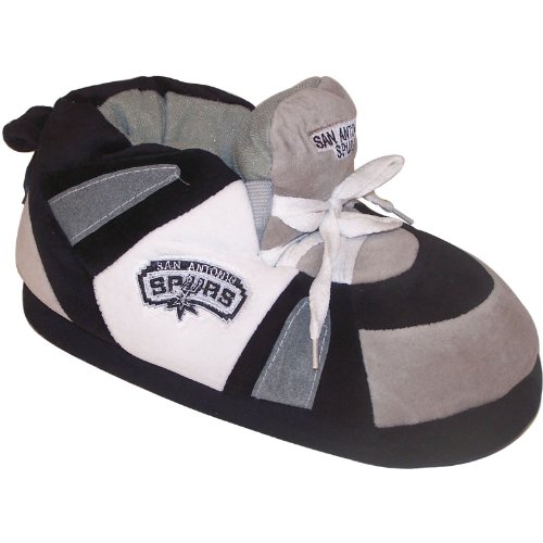 San Antonio Spurs Slippers (San Antonio Spurs NBA Comfy Feet Slippers (Men's Size 10 to 11 1/2) (X-Large))