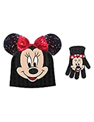 Disney Minnie Mouse Big Face Hat/Gloves