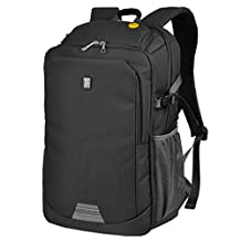 "XSY 15.6"" Inches Laptop Backpack Women and Men Waterproof Business Office Work Bag Color Dark Gray Size 17 Inches"