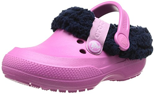 nautical Clog Navy K Zuecos Blitzen Pink party Rosa Crocs Goma Ii De qcv471gP