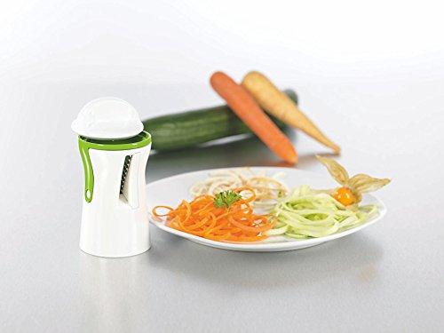 spiral slicer spiralizer complete bundle vegetable cutter zucchini pasta noodle spaghetti. Black Bedroom Furniture Sets. Home Design Ideas