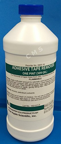 Aeroseptics 0600-16 Skin Adhesive Tape Remover One Pint / 16oz For Use With JC-5 JC-6 Sprays And Others