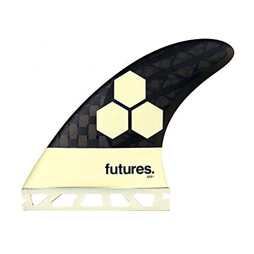 Future Fins AM1 Vector II Blackstix 3.0 V2AM1 Thruster Surfboard Fin Set Carbon (Carbon Fiber Fin Set)