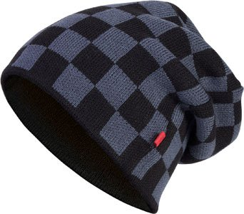 Masterdis Check Knit size C3 dk black grey;Größe one Color Beanie AAZ6qxw