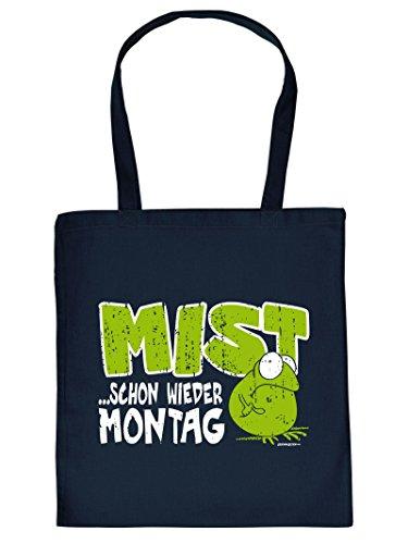 MIST... SCHON WIEDER ...- -Tote Bag Henkeltasche Beutel mit Aufdruck. Tragetasche, Must-have, Stofftasche. Geschenkidee