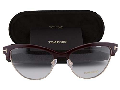 Tom Ford FT5365 Eyeglasses 54-17-140 Bordeaux Burgundy ()