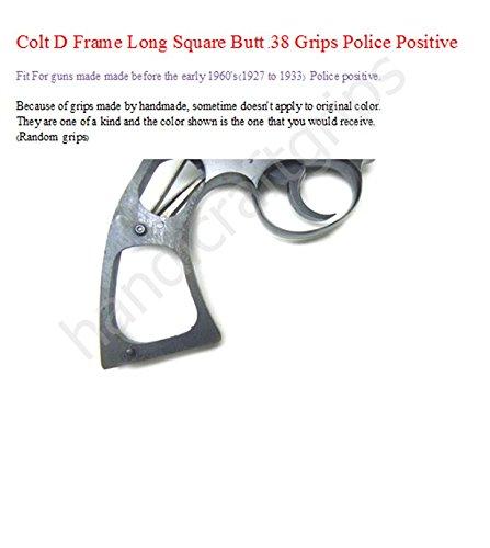 Amazon.com : handicraftgrips COR02## New Colt D Frame Long Square ...