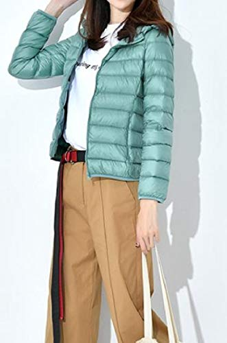 Coat Outwear Packable Down RkBaoye Ultra Winter Puffer AS1 Womens Light Hooded Fgqwa41g