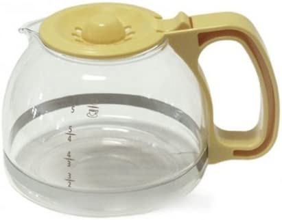 Moulinex – Jarra amarillo maíz Dahlia 6 tazas para cafetera ...