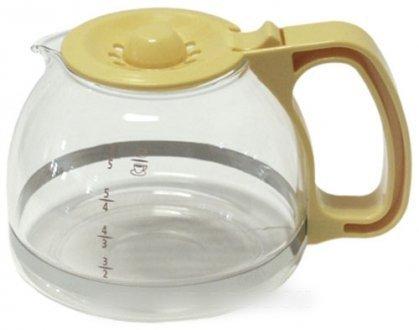 Moulinex - Jarra amarillo maíz Dahlia 6 tazas para cafetera ...