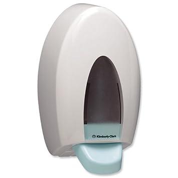 Aqua 6976 - Dispensador de jabón (plástico, 25 x 15 x 13 cm), color blanco: Amazon.es: Informática