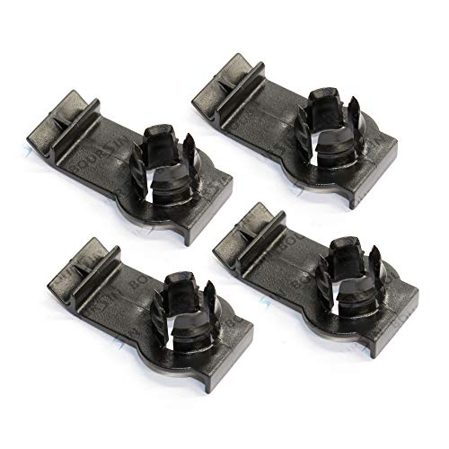 Window Regulator Clip For BMW E46 323i 325xi 325i 328i 330xi 330i 1999-2005 (Pack of 6) ()