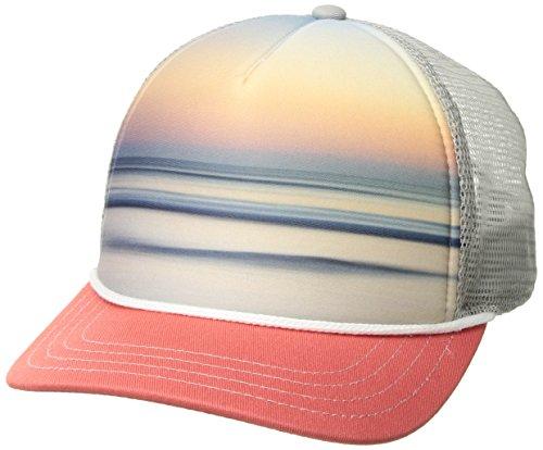 Womens Trucker Hat (Pistil Matty Trucker Cap, Coral, One)