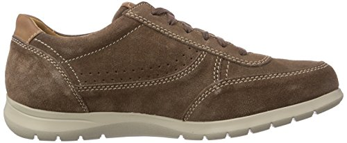 Mephisto PABLO VELSPORT 3658/MANO 3535 BROWN - zapatos con cordones de cuero hombre marrón - marrón