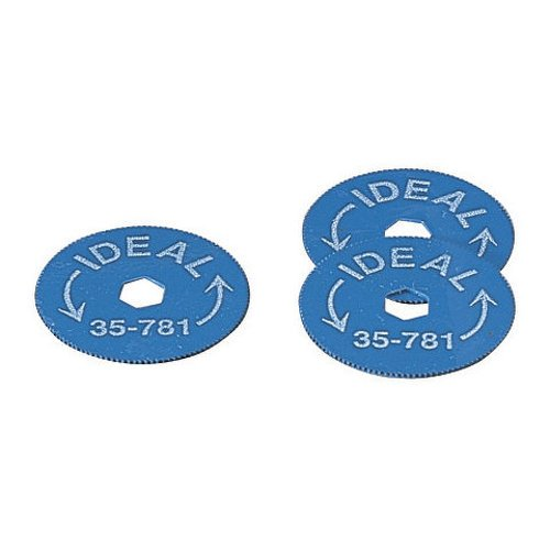 - Ideal Industries Replacement Blades for Rotary BX Cable Cutter (Pack of 5)