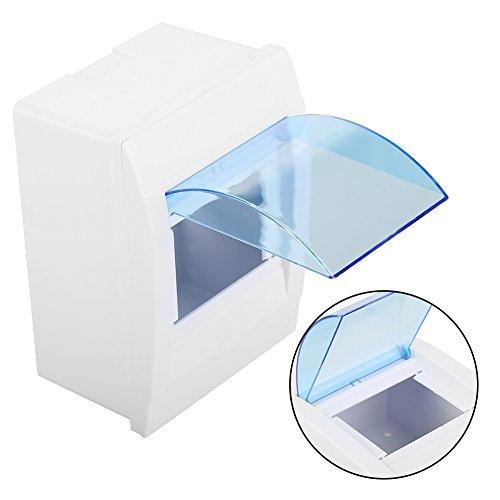Blesiya 5//8 Ways Plastic Distribution Box Waterproof Box for Circuit Breaker