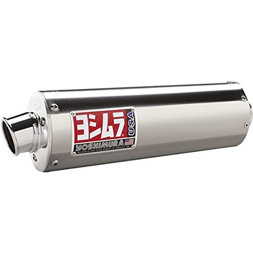 Yoshimura Exhaust RS3 Slip-On Stainless for Suzuki DRZ400S 00-07
