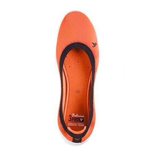 Nike 3pro Ballerina, Zapatillas de Deporte Exterior Para Mujer Naranja (Orange A)