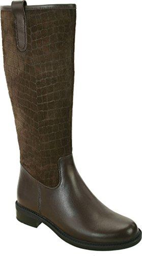 David Tate Womens Best Boot Pelle Di Vitello Marrone