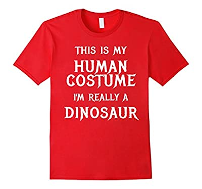 Dinosaur Halloween Costume Shirt Easy Funny for Kids Adults